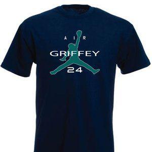 Ken Griffey Jr Seattle Mariners ADULT LARGE SHIRT